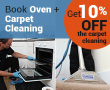 Book Oven and Carpet Cleaning and Get 10% OFF
